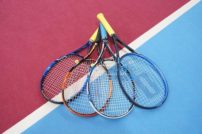 テニス用品選びもお任せください