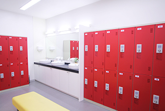 Dressing & locker room