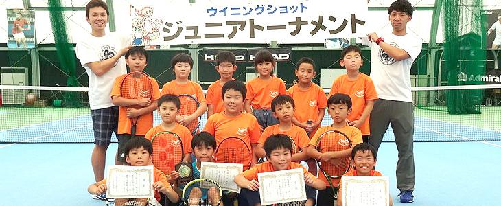 第27回ジュニアテニス大会&ゲーム練習会(2019.7/31)