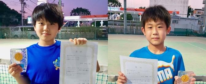 YFPジュニアテニスツアー2019〈ランキング結果〉
