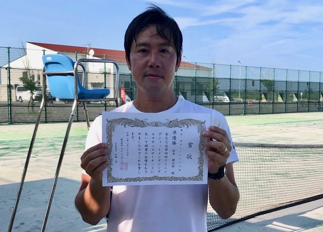 準優勝の松本健太郎さん