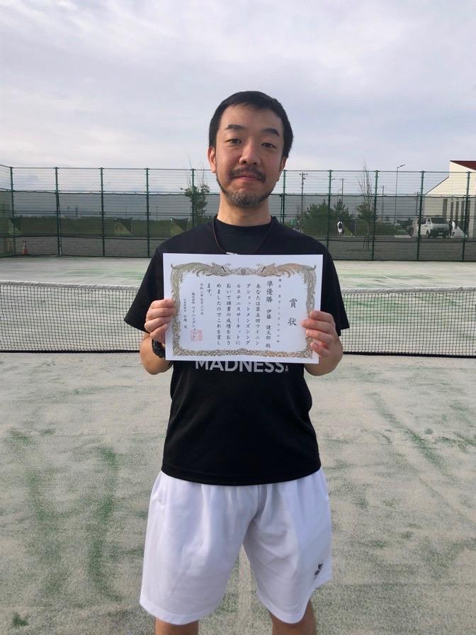 準優勝の伊藤健太郎さん