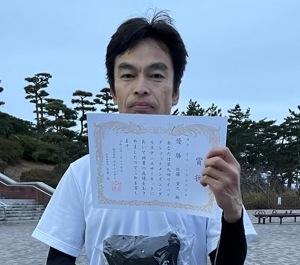 優勝の佐藤貴之さん