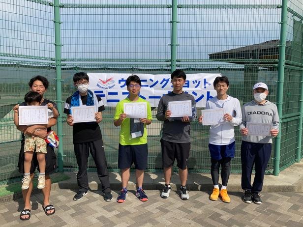 男子入賞者/気温よりも熱い試合でした!