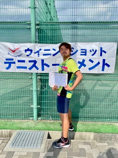 準優勝の佐藤順俊さん