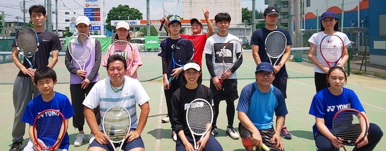 山本育史プロのテニスクリニック