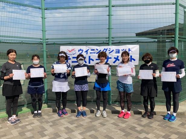 女子入賞者/体力的にも精神的にもタフな試合でした。